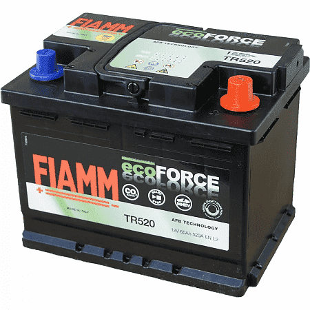Аккумулятор Fiamm Ecoforce EFB Start-Stop TR520